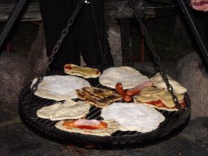 Traperska kolacja